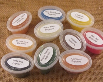 Popcorn Sampler wax melts