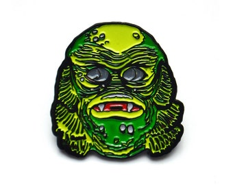 Monster Mash Gillman Pin
