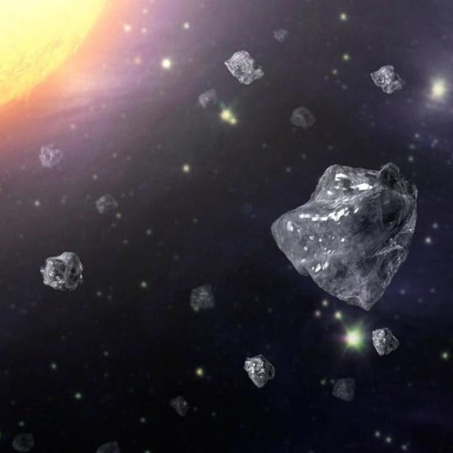 Outer Space Diamond: Feel The Magic Discover The Wonder Of Gemstones By