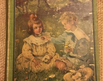"1913 Vintage First Edition of ""The Bobbsey Twins at Snow Lodge"" by Laura Lee Hope"