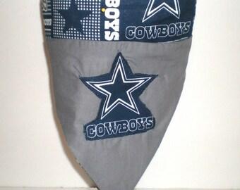 Dog bandana,Dog Dallas Cowboys bandana, Pet Bandana,Dog NFL bandana,Dog scarf