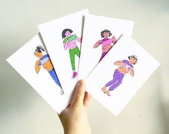 Flasher Postcards