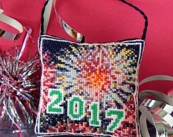2017 Hanging Decoration Cross Stitch Kit