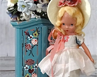 Nancy Ann Storybook Doll Mistress Mary Vintage Toys