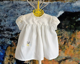 Baby Dress, Vintage Baby Dress, Summer Baby Dress, 1960s Baby Dress, Baby Girl Clothes, Baby Girl Dress