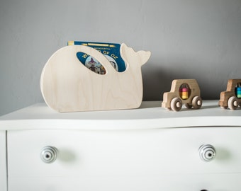 Whale MINI Toy Box - Storage Crate