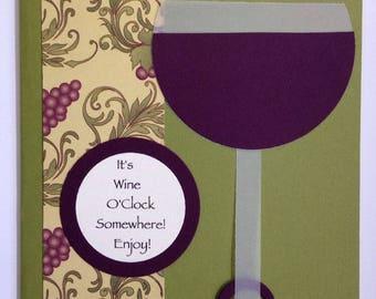 Stampin' UP! It's Wine O'Clock Card Kit