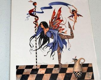 Amy Brown Art Print Faery Dancer