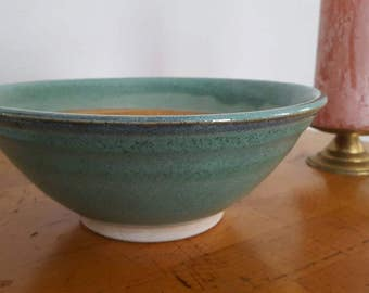 Large textured ceramic bowl