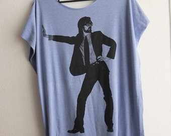 Jarvis Pop Star Long T-shirt Dress , one size