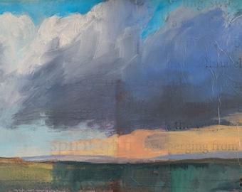 Colorado Spirit ~ Original Contemporary Abstract Landscape Painting