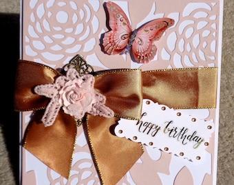 Birthday  Handmade 3D Greeting Card