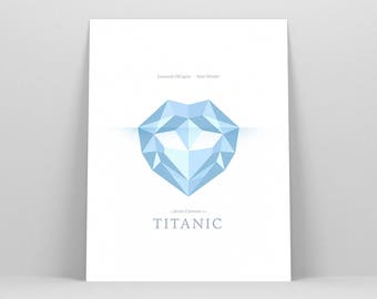 Titanic Poster ~ Movie Poster, Film Gift, Art Print by Christopher Conner
