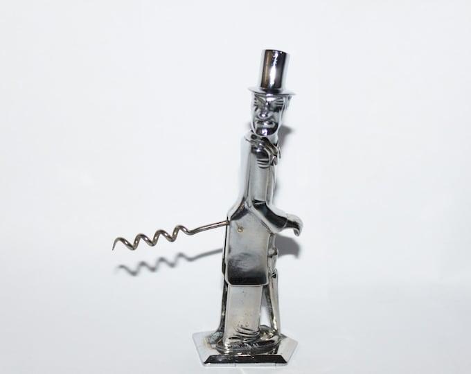 Vintage Prohibition Era 1935 Old Snifter Corkscrew in Working Condition, Negbaur of New York