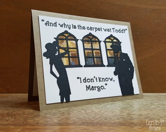 National Lampoon's Christmas Vacation Inspired Card: Todd & Margo
