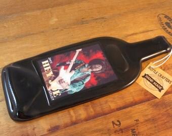 Jimi Hendrix Hey Joe Merlot Flat Wine Bottle