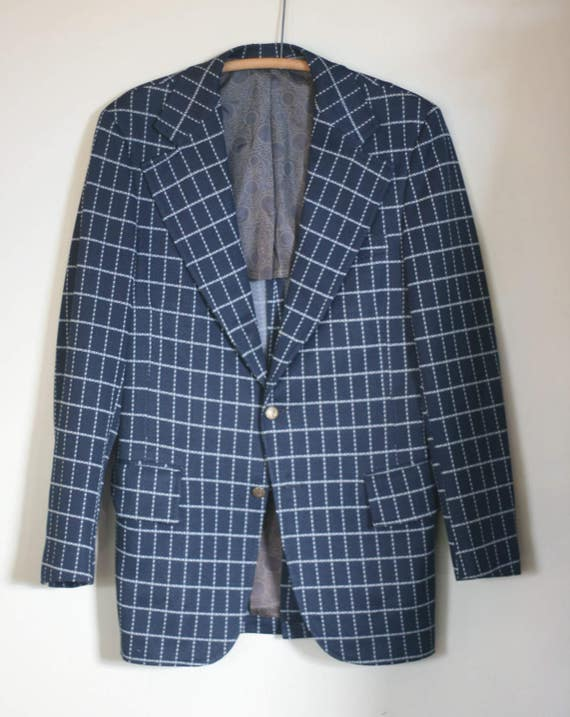 vintage polyester sport coat by brookfield size 40 IuNrt