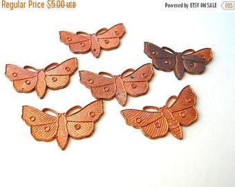 Enameling Copper Blanks - Moth Findings - Insects - Bugs - Butterflies