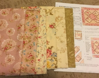 Remembrance Wallhanging Quilt Kit unused