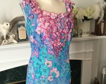 Betty Higgins Waikiki 60s Hawaiian Dress