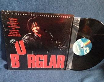 "RARE Vintage, ""Burglar"" Original Soundtrack Vinyl LP Record Album, Original First Press, In Shrink, The Jacksons, Sly Stone, The Smithereens"