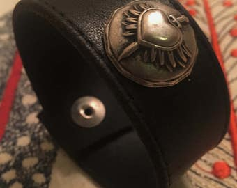 Heart and sword bracelet