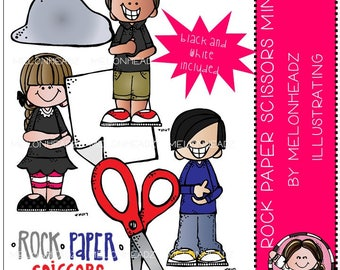 Rock Paper Scissors clip art