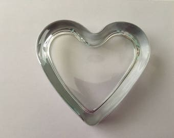 Custom Heart Shaped Paperweight