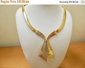 On Sale TRIFARI Geometric Collar Necklace Item K # 694