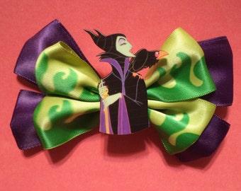 Sleeping Beauty Maleficent Hair Bow