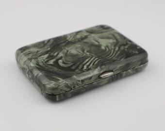 1940's Green Lucite Plastic Cigarette Case
