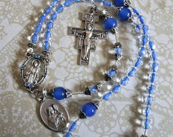 St. Clare of Assisi Traditonal Five Decade Rosary