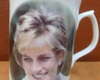 Diana Princess of Wales In Memory Of mug