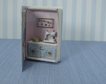 Gaël Miniature  Vintage Games box shabby chic toys Dollhouse Miniature child game Accessory toy, Handmade
