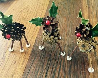 Pine Cone Raindeers