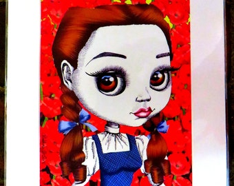 "Judy Garland as Dorothy in 'The Wizard of Oz' 11x14"" Art Print"