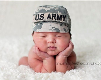 ARMY ACU Baby Military Caps, Military Hat, Military Baby, Army Baby