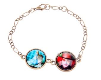 Bracelet Alice Mad hatter(1616B)