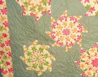 Fall Leaves Queen Quilt