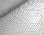 AIDA 11 Count Fabric. White Cross stitch fabric. Permin embroidery cotton. Made in Copenhagen.