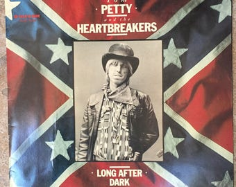 1983 Tom Petty Concert Program Tom Petty and the Heartbreakers Long After Dark 1983 Concert Tour Book