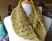 Wool/Cashmere/Silk Infinity Scarf/Cowl