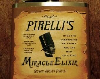 Sweeney Todd Flask - Perrelli's Miracle Elixir