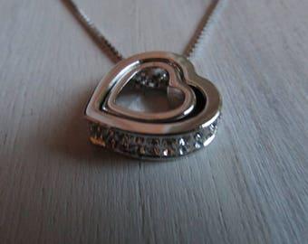 Heart Duet necklace