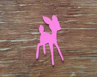 Baby deer Bambi die cuts cut outs