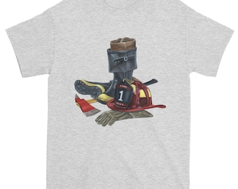 Tools of the trade firefighter t shirt