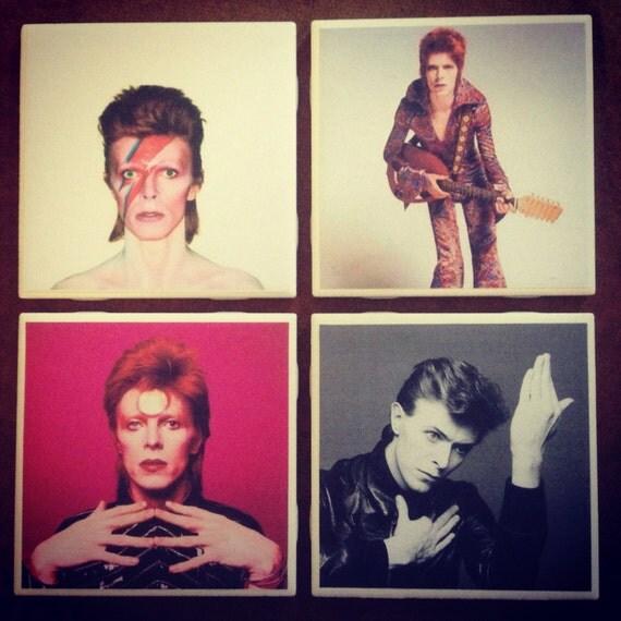 David Bowie Coaster Set