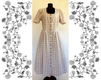 "Vintage ""OS Trachten"" Dirndl Dress"