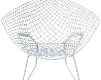 ON SALE Knoll Mid-Century Diamond Chair by Bertoia