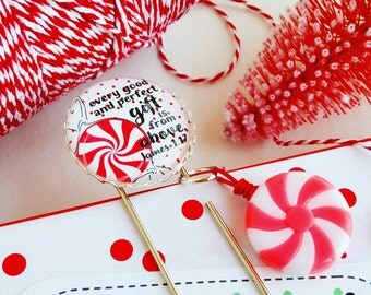 Every good and perfect gift James 1.17 / Christmas holiday inspirational planner /bible journaling jumbo paper clip